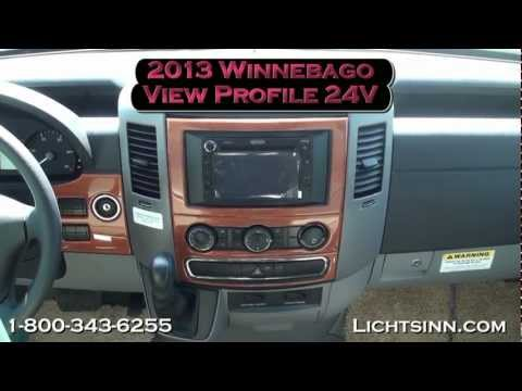 Lichtsinn.com - New 2013 Winnebago View Profile 24V Motor Home Class C - Diesel