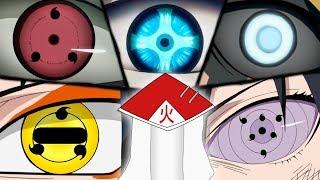 OS 10 PODERES OCULARES MAIS PODEROSOS DE NARUTO (Doujutsu) | Player Solo