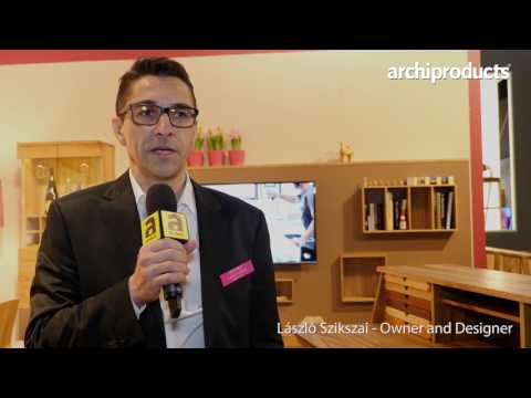 Imm Cologne 2017 | Sixay - László Szikszai ci racconta i prodotti in legno ed il Brand