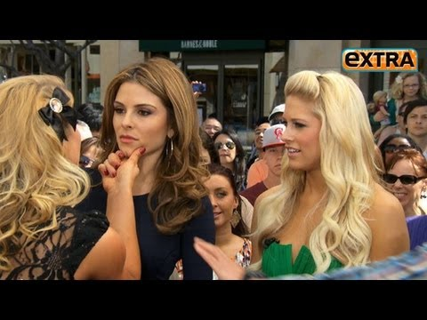 Maria Menounos' WWE Diva Smackdown at The Grove!