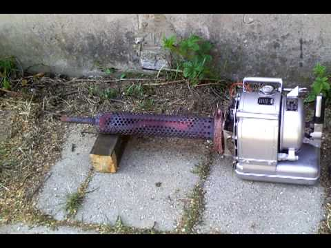 Swingfire heater with pulse jet engine at our amateur radio Station part 3