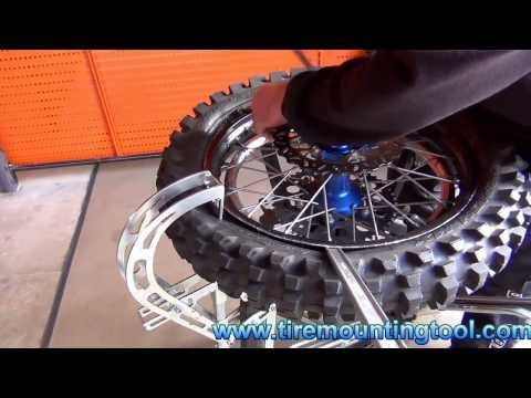 TMT 3 - The Fastest BIB-Mousse tire changer for off-road motorcycles