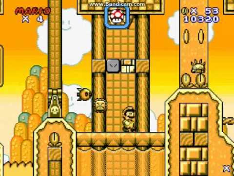 Super Mario Flash 2 (SMF2) Custom Level - Golden Hills
