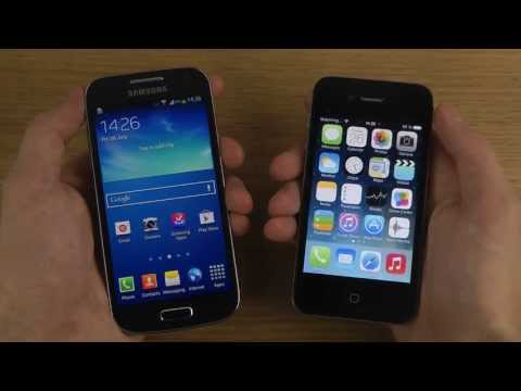 Samsung Galaxy S4 Mini vs. iPhone 4S iOS 7 - Which Is Faster?