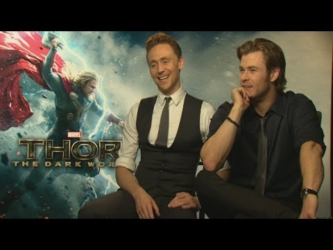 Thor: Chris Hemsworth and Tom Hiddleston reunite for Thor: The Dark World
