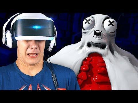 САМАЯ БЕЗУМНАЯ ИГРА для PlayStation VR!