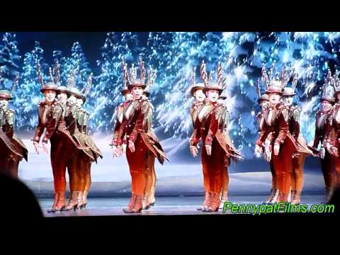 2011 Radio City Christmas Show Rockettes Reindeers