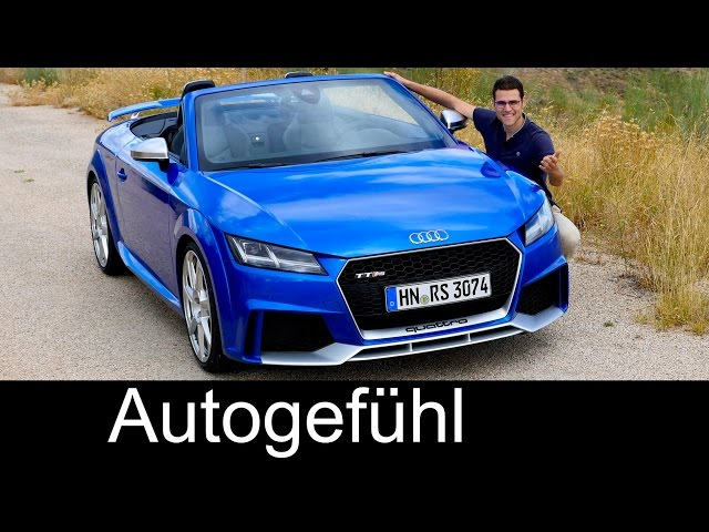 Audi TT RS Coupé & Roadster FULL REVIEW test driven 5cyl ...