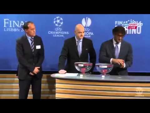 Europa League Draw of the Semi Finals 1 2 Finals 2013 2014 HD