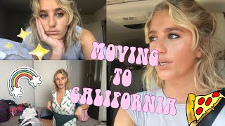 MOVING TO CALI || FIRST ENGLISH VLOG