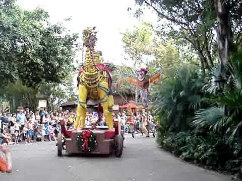 Walt Disneyworld Orlando. Animal Kingdom Parade