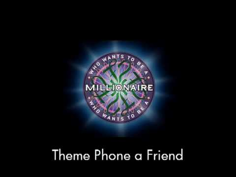 Theme Phone A Friend - Who Wants To Be A Millionaire? video