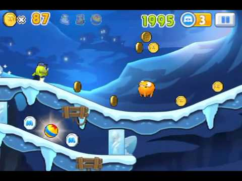Monster, inc  Run Ice Cave Level 16 last ios iphone gameplay