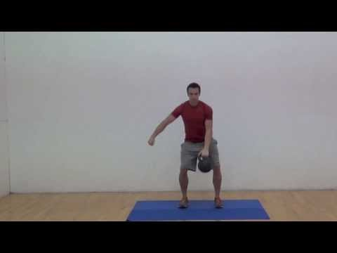 Kettlebell Clean & Press Image 1