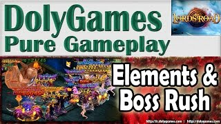 Lords Road Gameplay Element Trials and Boss Rush (30 June 2015)