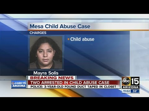 """Mesa police reveal details in """"shocking"""" child abuse case"""