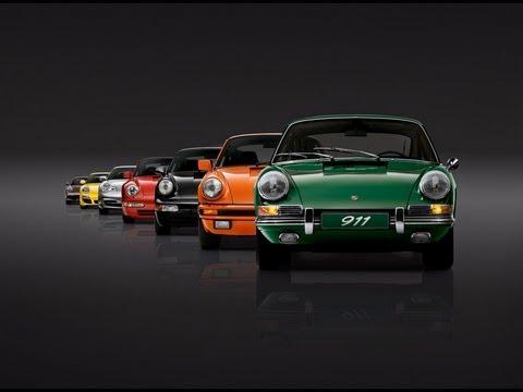 Празднование 50-летия Porsche 911