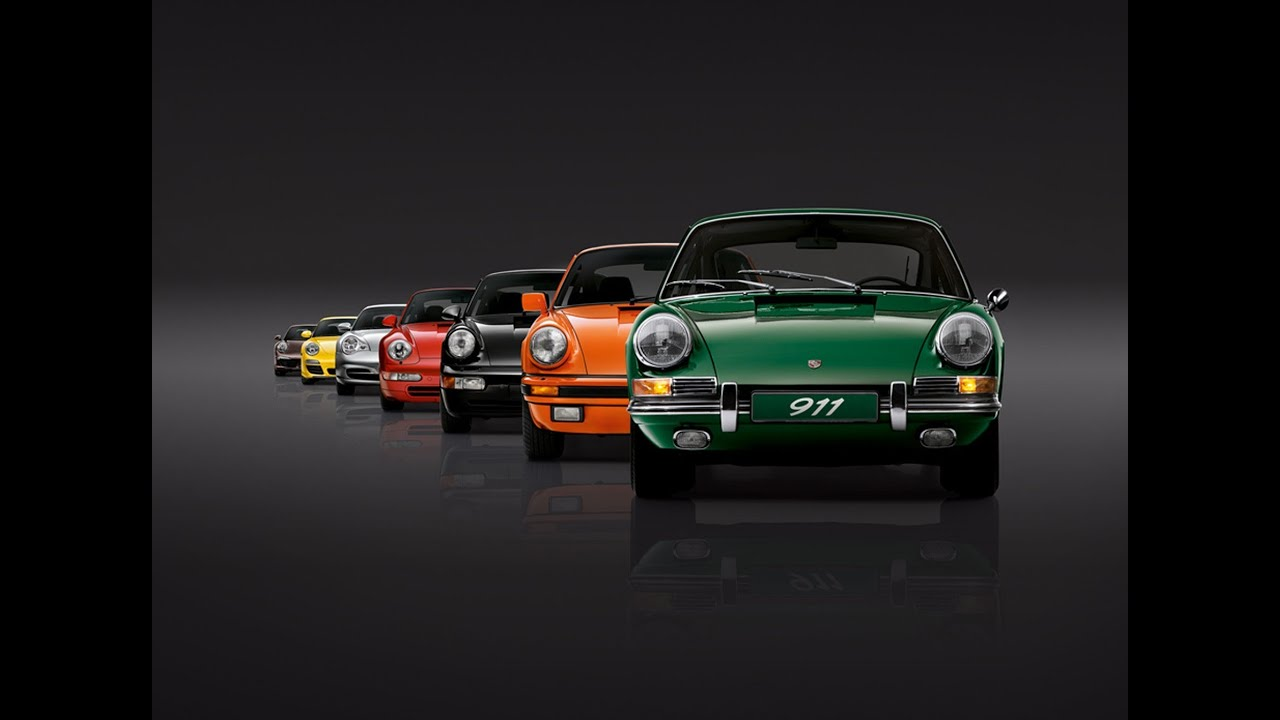 Celebrating 50 Years Of Porsche 911 Youtube