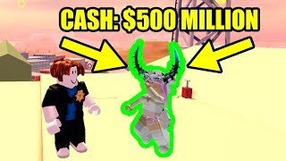 THIS PLAYER has almost 500 MILLION CASH in Roblox Jailbreak