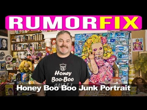 You Won't Believe How This Honey Boo Boo Portrait Was Made