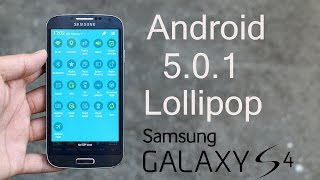 Galaxy S4 (I9500) - Android 5.0.1 Lollipop Firmware - How to install