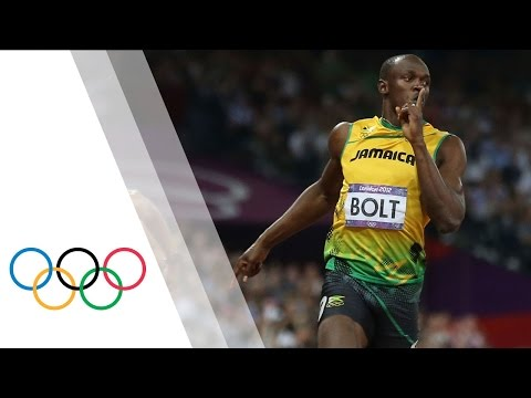 Usain Bolt Wins 200m Final -- London 2012 Olympics