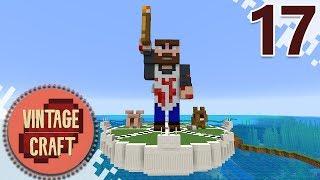 Minecraft VintageCraft Season 2 - EP17 - Building My Shop! (Gameplay Video)