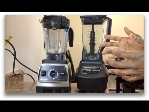 Ninja Mega Kitchen System 1500 vs. Vitamix (750). SHOWDOWN!