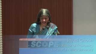 "UN Public Lecture by Jayati Ghosh on ""Rights of Domestic Workers"""