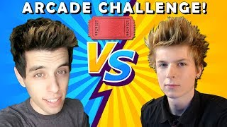Arcade Warrior VS Matt3756 Arcade Tickets Challenge!! Matt3756