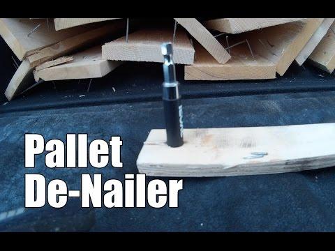 Pallet Wood De-Nailer