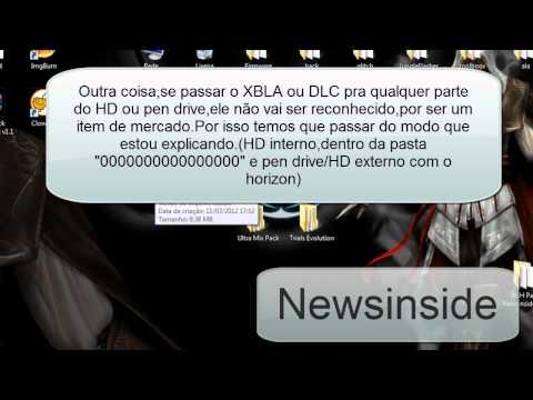 [Newsinside]Instalando XBLA(arcades) e DLC em xbox com Reset Glitch Hack/JTAG;