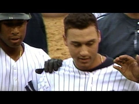 Jeter delivers first career walk-off