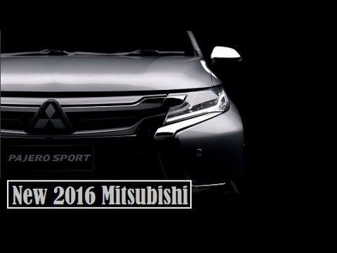 New 2016 Mitsubishi Pajero Sport, a new teaser video
