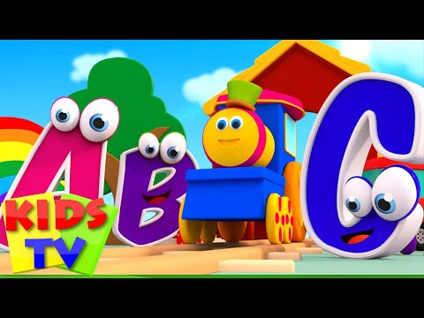 ABC Song | abc adventure | kids tv show | abc songs for children | Bob The Train abc songs