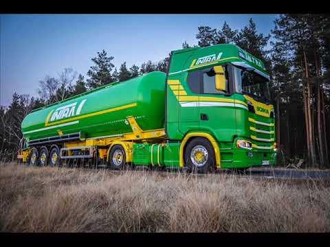 Firma Transportowa Intra +Zielony INTRUZ