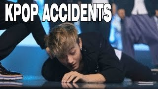 TOP PAINFUL KPOP ACCIDENTS AND FAILS