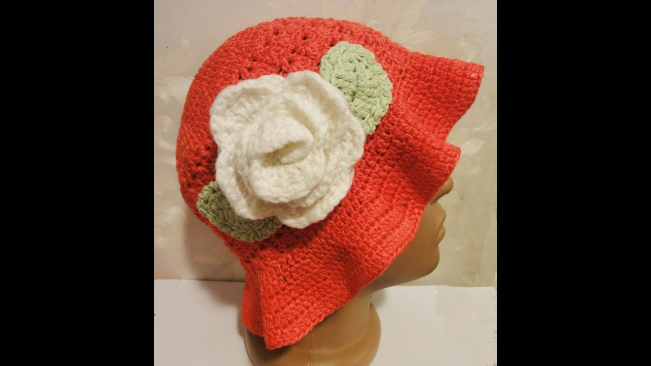 ??????? ??????? ??????? ??????? Panama hat Crochet - YouTube