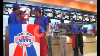 Big Man Pizza 2nd Branch Inauguration Ceremony Gulshan e Ravi Pkg By Riffat Abbas.flv