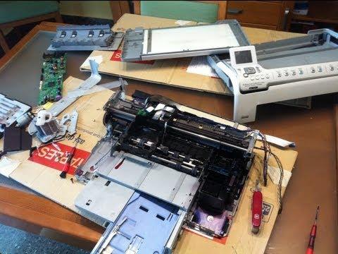 Como limpiar cabezales de impresora HP sin desmontar la máquina
