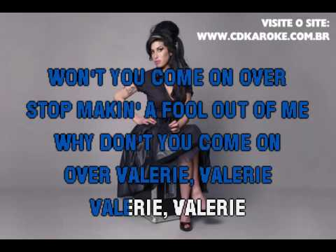 Amy Winehouse   Valerie