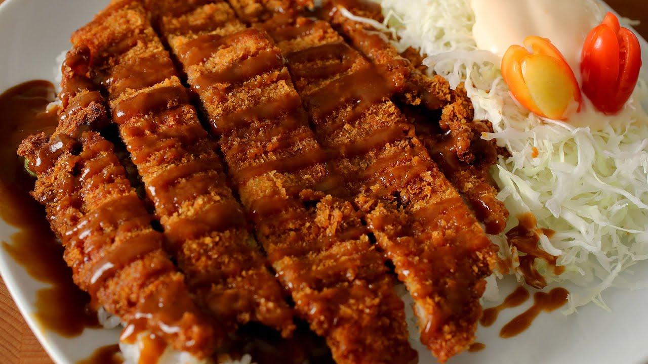 Sliced Pork Recipe Pork Cutlet Donkkaseu Recipe