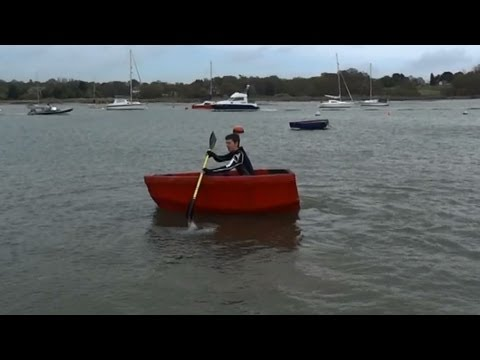 XRobots - Experimental Boat Building Part 6, Initial Testing on the River Hamble Southampton UK