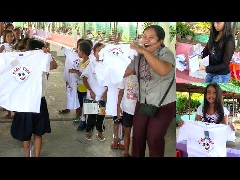 Kids' Toys Surprise School Visit in Sulib ES