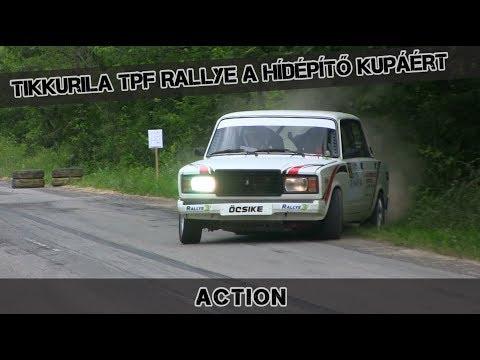 Tikkurila TPF Rallye a Hídépítő kupáért Bakonya - Action 2019.