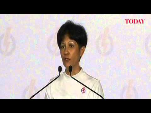 Indranee Rajah speaks at the PAP rally, Punggol East by-election, Jan 18, 2013