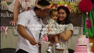 Kiribati - Riu Tebuke 1st Birthday Party (Highlights)