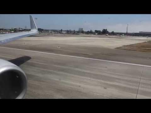 (HD) AA B737-800 Takeoff from Los Angeles Int'l Airport (LAX)