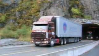Scania V8 uphill