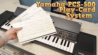 Yamaha PCS-500 Play-card System